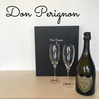 ドンペリニヨン(Dom Pérignon)の売約済 ドン ペリニヨン*2003 ヴィンテージ フリュートグラス 2脚セット(シャンパン/スパークリングワイン)