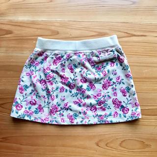 ジーユー(GU)のGU☆花柄スカート(スカート)