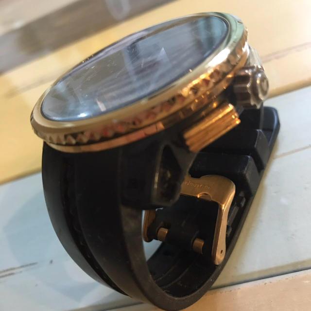 HYDROGEN(ハイドロゲン)のTendence希少時計 ブラック&ゴールド メンズの時計(腕時計(アナログ))の商品写真