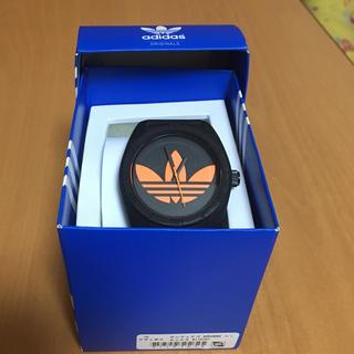 アディダス(adidas)の【大人気】アディダスオリジナルス 時計 オレンジ×ブラック(腕時計(アナログ))