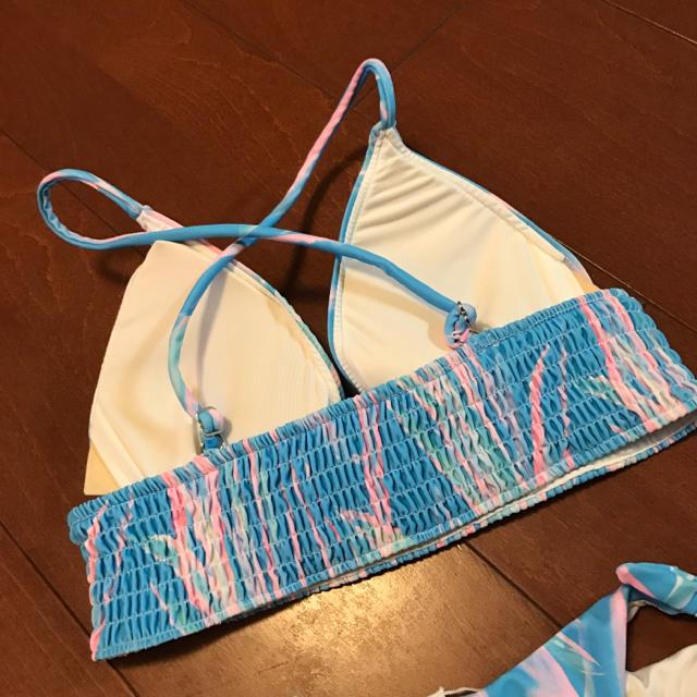 ALEXIA STAM(アリシアスタン)のブルートロピカル★キャミビキニ レディースの水着/浴衣(水着)の商品写真
