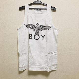 ボーイロンドン(Boy London)の正規品 BOY LONDON ボーイロンドン 白 ホワイト タンクトップ (タンクトップ)