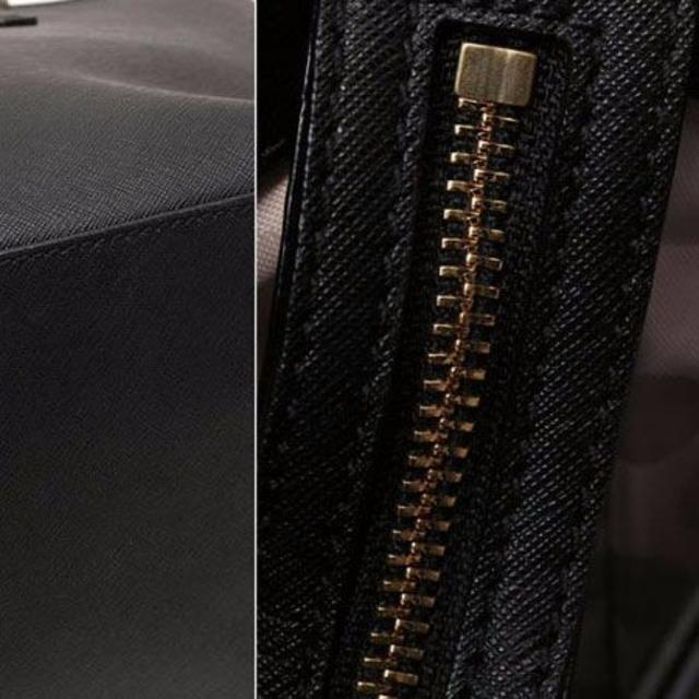 kate spade new york(ケイトスペードニューヨーク)の【定価5万】 ケイトスペード トートバッグ レザー 黒 レディースのバッグ(トートバッグ)の商品写真