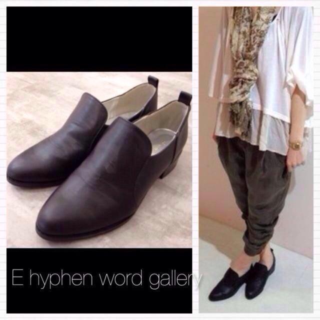 E hyphen world gallery(イーハイフンワールドギャラリー)のマニッシュシューズ レディースの靴/シューズ(ハイヒール/パンプス)の商品写真