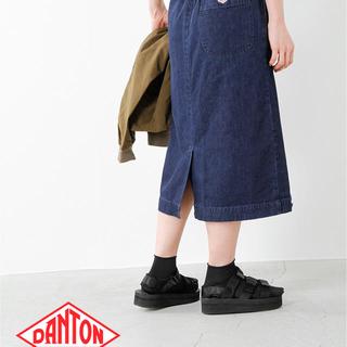 ダントン(DANTON)のDANTON ダントン 今期大人気のデニムスカート(ひざ丈スカート)