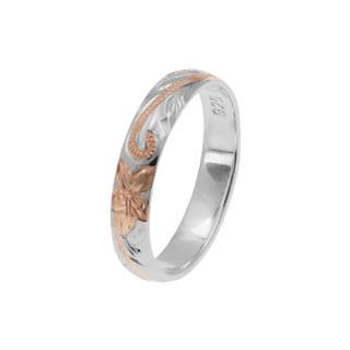 ハワイアンジュエリープルメリアリング(リング(指輪))