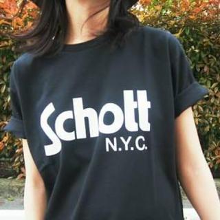 アングリッド(Ungrid)のSchott Tシャツ(Tシャツ/カットソー(半袖/袖なし))