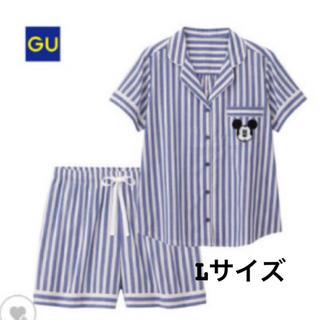 ジーユー(GU)のgu ミッキーパジャマ 新品未使用(パジャマ)