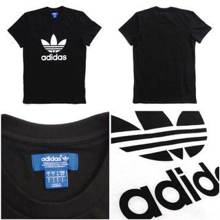 アディダス(adidas)のadidas originals 黒Tシャツ(Tシャツ/カットソー(半袖/袖なし))