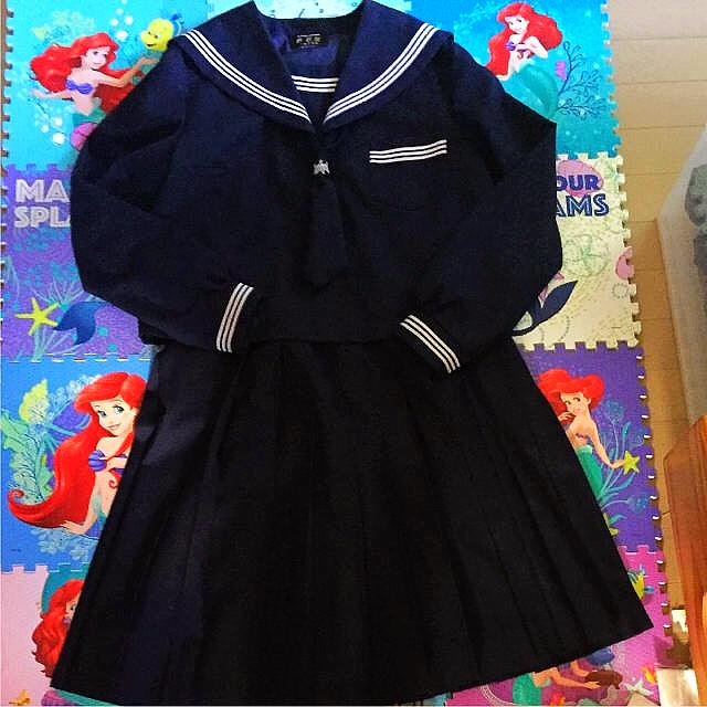84ac1540d5f 美品💓 セーラー服 冬服 クリーニング済みの通販 by 🌈🌷💨💨|ラクマ