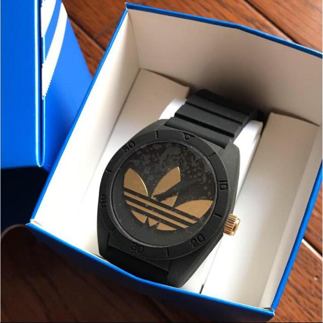 adidas(アディダス)の新品 アディダス ADIDAS サンティアゴ 腕時計 ADH2912 ブラック メンズの時計(腕時計(アナログ))の商品写真