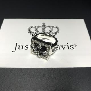 ジャスティンデイビス(Justin Davis)の新品◆JUSTIN DAVIS◆スクエアクロスリング◆11号◆廃盤◆クロムハーツ(リング(指輪))
