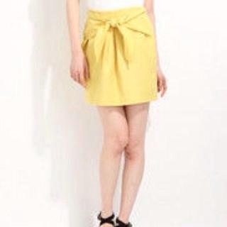 ローリーズファーム(LOWRYS FARM)のローリーズ ノットリボンスカート(ミニスカート)