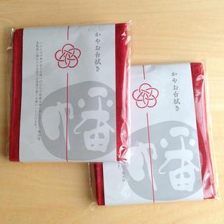 ムジルシリョウヒン(MUJI (無印良品))の奈良*綿かや生地ふきん2枚セット(その他)