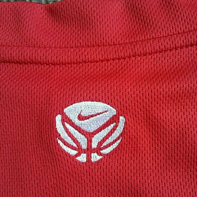 NIKE(ナイキ)のメンズLGGナイキNIKEタンクトップレッドバスケットバスケトップス運動着 メンズのトップス(タンクトップ)の商品写真