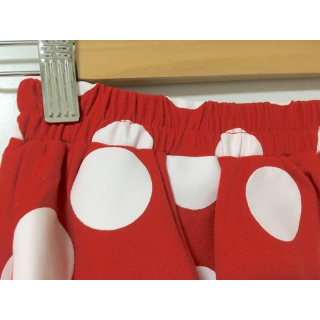 Disney(ディズニー)の【美品】ミニーちゃん☆水玉スカート エンタメ/ホビーのコスプレ(衣装)の商品写真