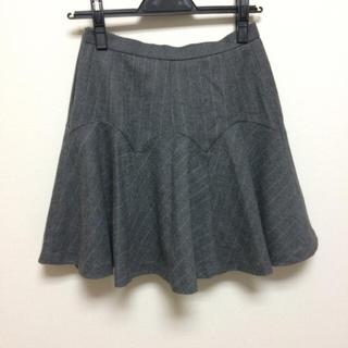 アプワイザーリッシェ(Apuweiser-riche)のマーメイド ストライプ スカート(ミニスカート)