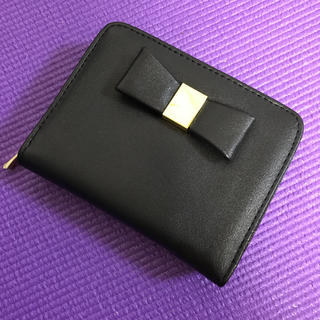 シマムラ(しまむら)のしまむら*リボン 二つ折り財布*(財布)