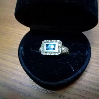 ローリーロドキン(Loree Rodkin)のREY1030様専用 ローリーロドキンゴシックリング シルバー×ブルー  (リング(指輪))