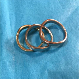 新品☆ 3カラー ファッションリング 14号(リング(指輪))
