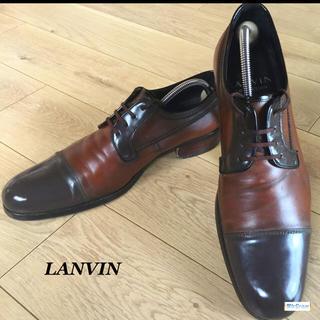 LANVIN , 【送料込み】美品☆LANVIN ストレートチップ メンズ革靴size ドレス/ビジネス