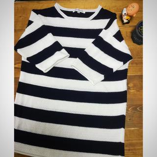 フラッシュポイント(FLASHPOINT)のFLASH REPORT 5分丈袖 サマーセーター(Tシャツ/カットソー(半袖/袖なし))