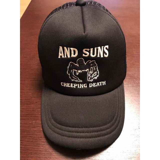 dc45aa795c14a ANDSUNS - AND SUNS アンドサンズ 帽子 キャップの通販 by たつ s shop ...