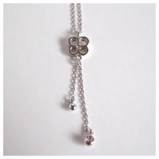 クレージュ(Courreges)のクレージュ 花のネックレス(ネックレス)