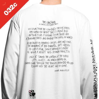 """ステューシー(STUSSY)の新品【032c x Stüssy """"Panther"""" Longsleeve】L(Tシャツ/カットソー(七分/長袖))"""