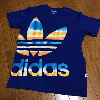 アディダス(adidas)のアディダス タイダイ染め風 Tシャツ(Tシャツ/カットソー(半袖/袖なし))
