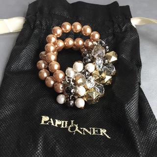 パピヨネ(PAPILLONNER)のパピヨネ購入  ブレスレット パール(ブレスレット/バングル)