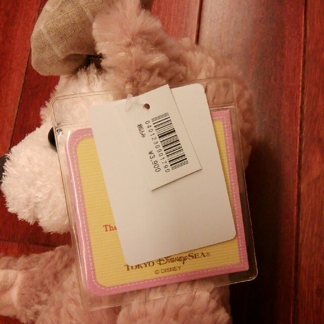 Disney(ディズニー)のシェリーメイ ぬいぐるみ 新品未使用 タグつき ディズニーシー エンタメ/ホビーのおもちゃ/ぬいぐるみ(ぬいぐるみ)の商品写真