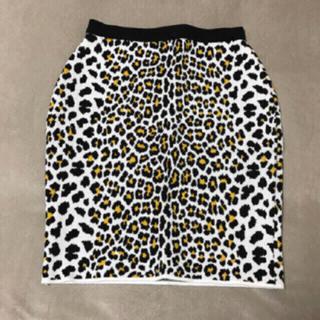 ルシェルブルー(LE CIEL BLEU)のcoco_eve様専用ページ♡ルシェル 未使用レオパードスカート♡(ひざ丈スカート)