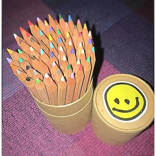無印の色鉛筆(60色!) - mina - サンキュ!主婦ブログ 料理・節約・懸賞など主婦の口コミブログ満載