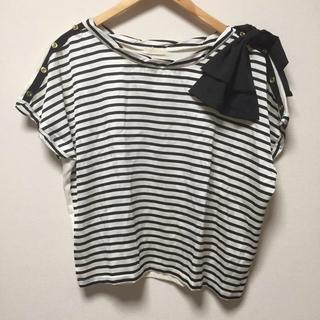 プーラフリーム(pour la frime)の新品ボーダーT(Tシャツ(半袖/袖なし))