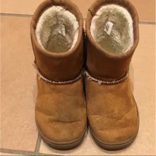 ムジルシリョウヒン(MUJI (無印良品))の無印良品 ムートン風ブーツ(ブーツ)