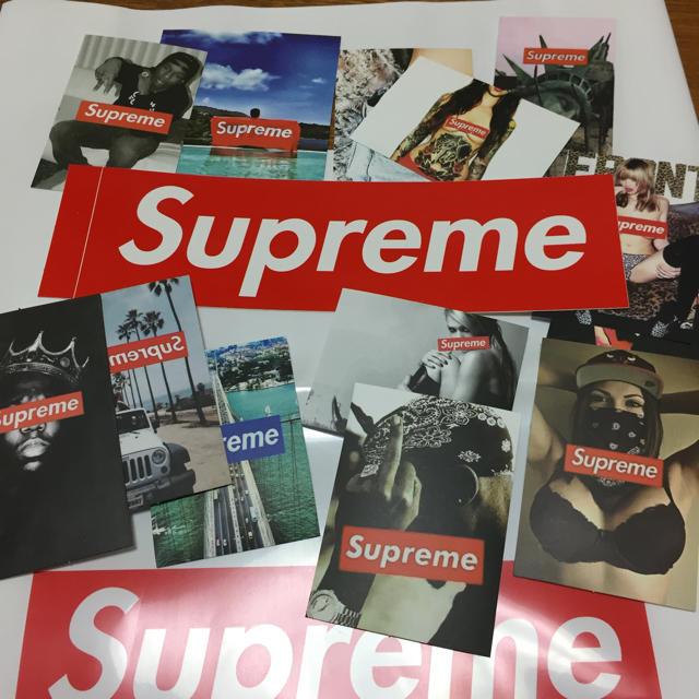 Supreme(シュプリーム)のシュプリーム ステッカー 14枚 エンタメ/ホビーのコレクション(ノベルティグッズ)の商品写真