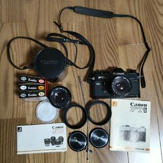 キヤノン(Canon)のキヤノンFTb カメラ レンズ付き アンティーク (フィルムカメラ)