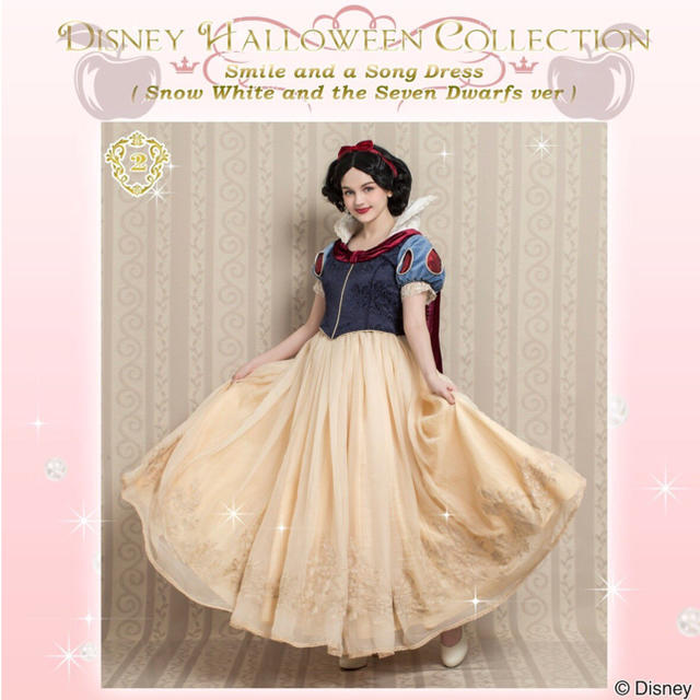 Secret Honey(シークレットハニー)のシークレットハニー 白雪姫 ドレス ディズニー ハロウィン エンタメ/ホビーのコスプレ(衣装)の商品写真