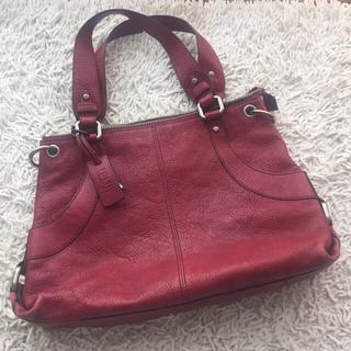 フォッシル(FOSSIL)の♡本革♡フォッシル FOSSIL ハンドバッグ 鞄(ハンドバッグ)
