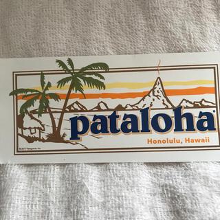 パタゴニア(patagonia)のpatalohaステッカー(シール)