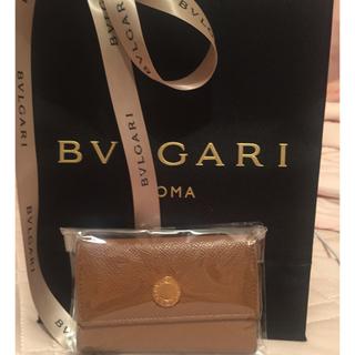 ブルガリ(BVLGARI)のブルガリレザーキーケース 美品(キーケース)
