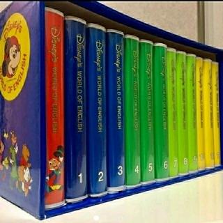 ディズニー(Disney)のきりん様専用 ディズニー ワールドオブイングリッシュ VHS(キッズ/ファミリー)