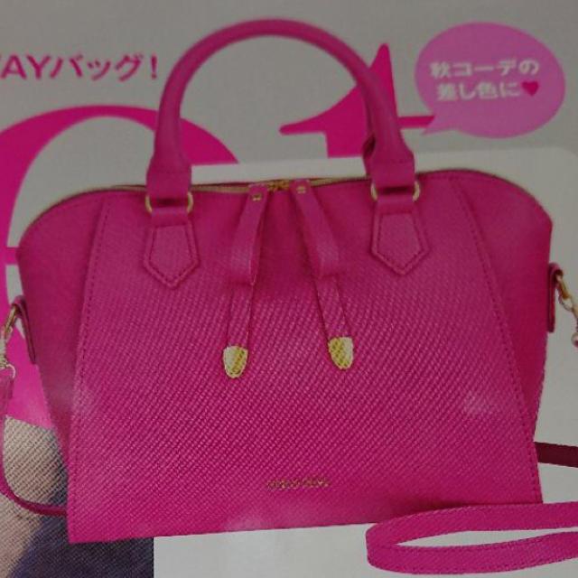 COCO DEAL(ココディール)のSWEET 付録 レディースのバッグ(ハンドバッグ)の商品写真