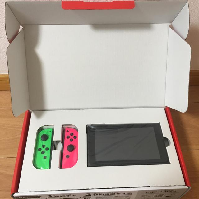Nintendo Switch(ニンテンドースイッチ)の【新品・保証・即日配送】Nintendo Switch 本体 エンタメ/ホビーのテレビゲーム(家庭用ゲーム本体)の商品写真