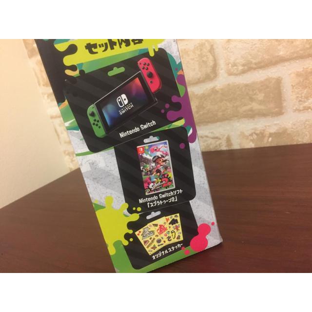 Nintendo Switch(ニンテンドースイッチ)のスプラトゥーン2セット switch  乱-ran-様専用 エンタメ/ホビーのテレビゲーム(家庭用ゲーム本体)の商品写真