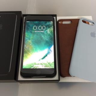 アップル(Apple)のiPhone7Plus 256GB SIMフリー ジェットブラック(スマートフォン本体)