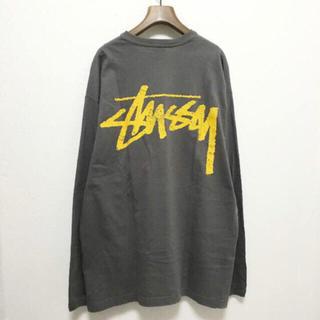 ステューシー(STUSSY)の【Stussy】ビッグロゴ&スカルロゴ 両面プリント L/Sカットソー L(Tシャツ/カットソー(七分/長袖))