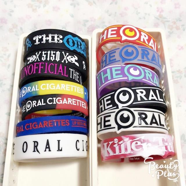 ♡ THE ORAL CIGARETTES ラバーバンド ♡ エンタメ/ホビーのタレントグッズ(ミュージシャン)の商品写真