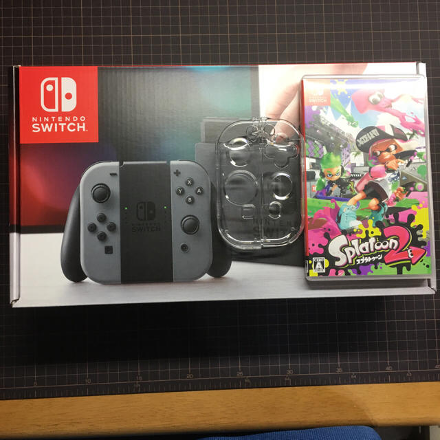 Nintendo Switch(ニンテンドースイッチ)の任天堂Switch本体  みーほ。様 専用 エンタメ/ホビーのテレビゲーム(家庭用ゲーム本体)の商品写真